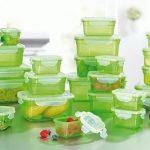 Hộp nhựa đựng thức ăn trong tủ lạnh